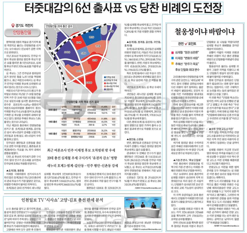 인천일보 3월 16일 2면 4.15총선 격전지.png